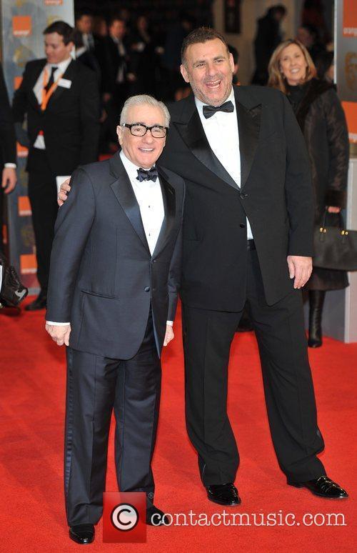 Martin Scorsese, Graham King and Bafta 2