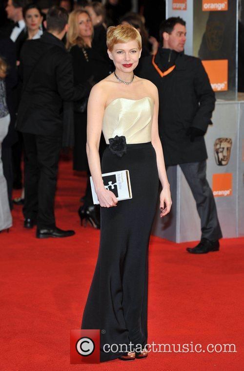 Michelle Williams and Bafta 1