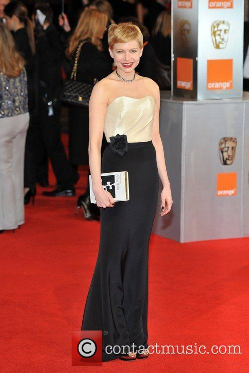 Michelle Williams and Bafta 7