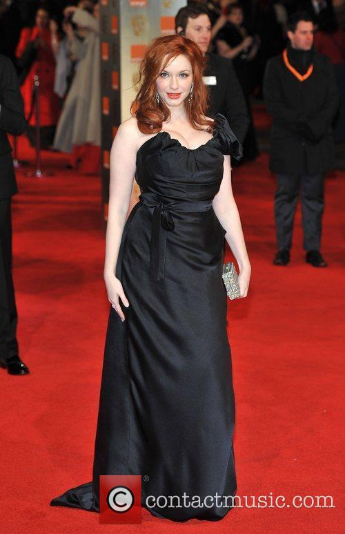 Christina Hendricks and Bafta 9