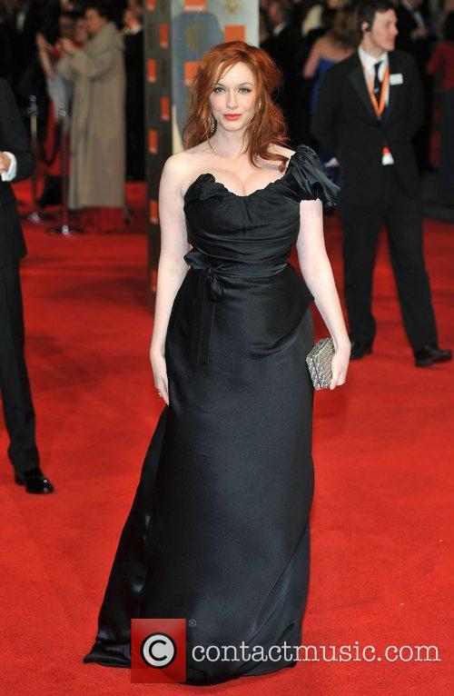 Christina Hendricks and Bafta 11