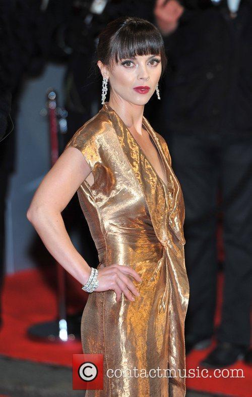 Christina Ricci The Orange British Academy Film Awards...