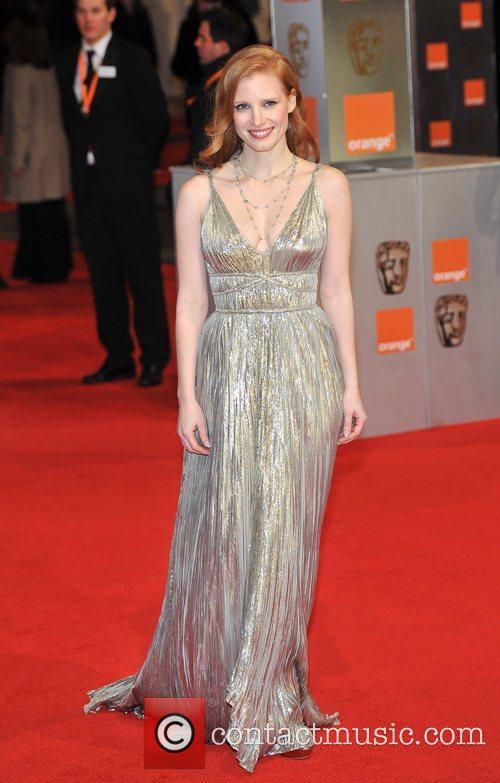Jessica Chastain and Bafta 5