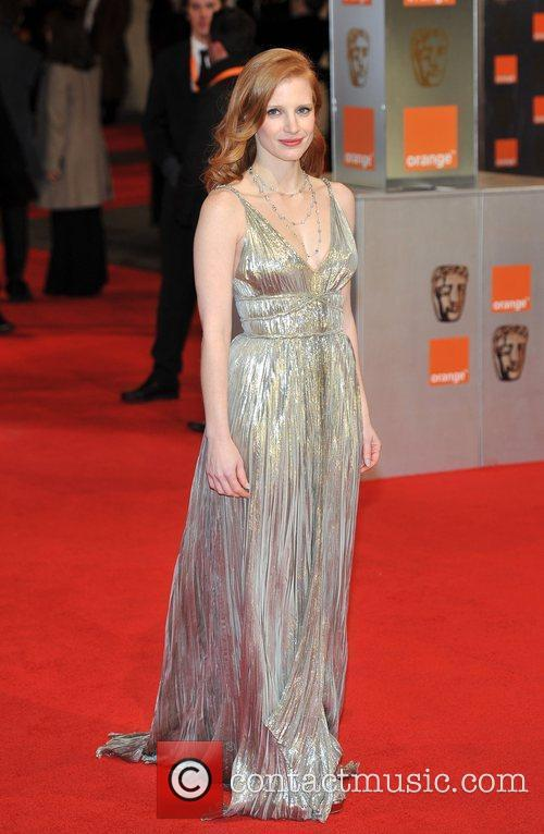 Jessica Chastain and Bafta 6