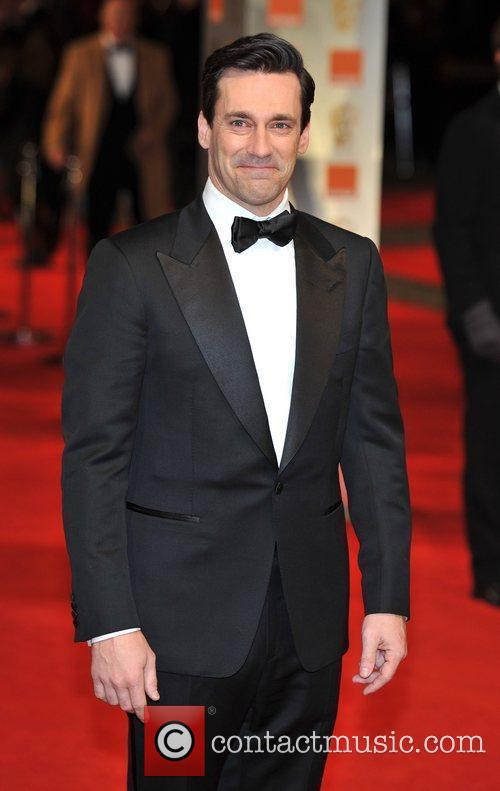 Jon Hamm and Bafta 1