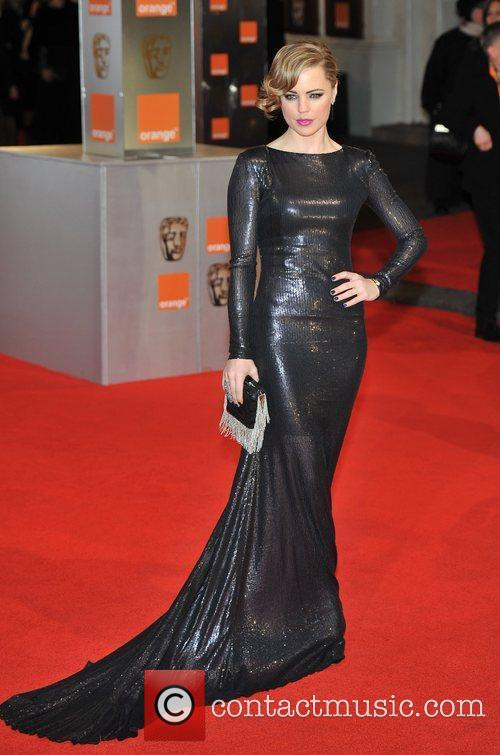 Melissa George and Bafta 3