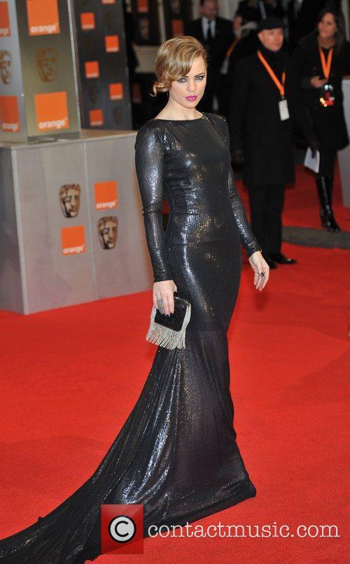 Melissa George and Bafta 4