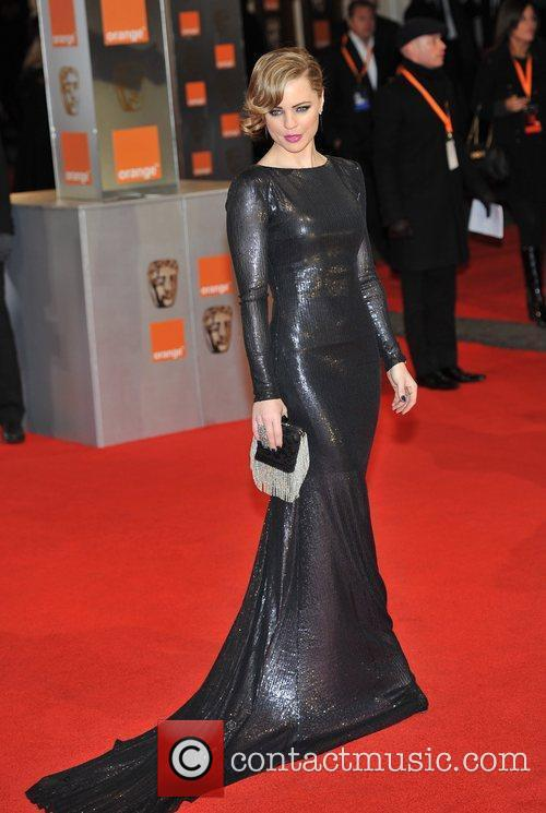 Melissa George and Bafta 5