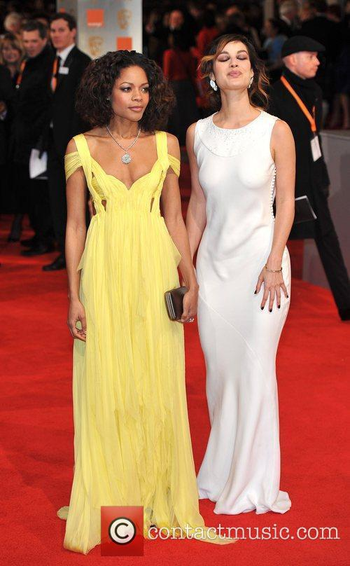 Naomie Harris and Bafta 7