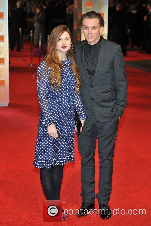 Bonnie Wright and Bafta 7