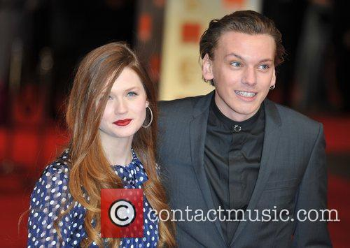 Bonnie Wright and Bafta 8