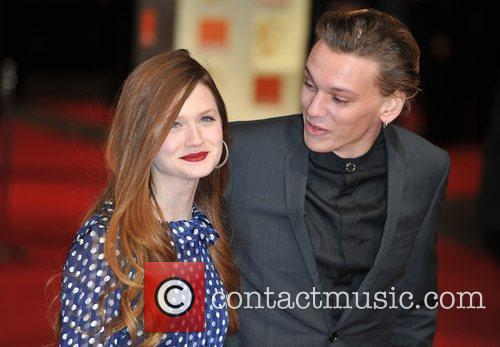 Bonnie Wright and Bafta 9