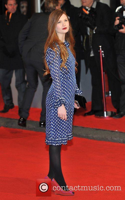 Bonnie Wright and Bafta 11
