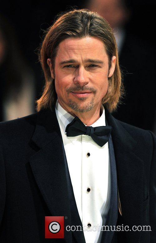 Brad Pitt and Bafta 4