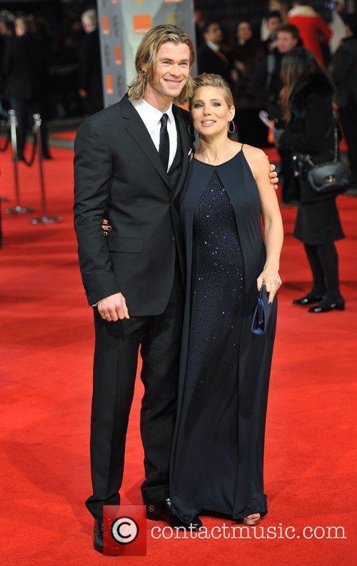 Chris Hemsworth and Bafta 1