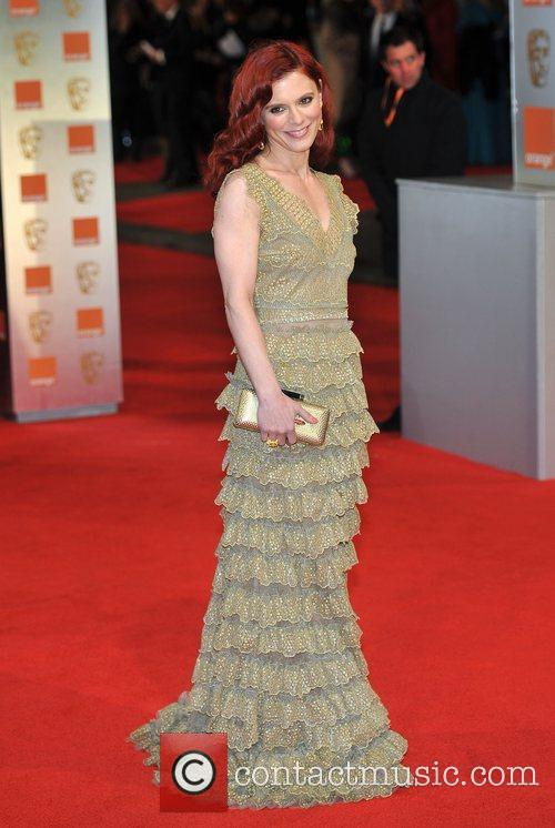 Emilia Fox and Bafta 11