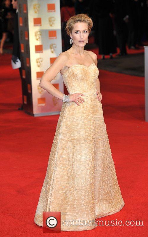 Gillian Anderson and Bafta 3