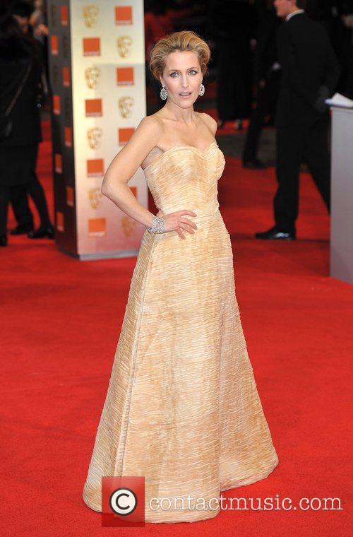 Gillian Anderson and Bafta 4