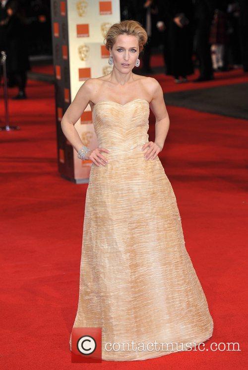 Gillian Anderson and Bafta 5