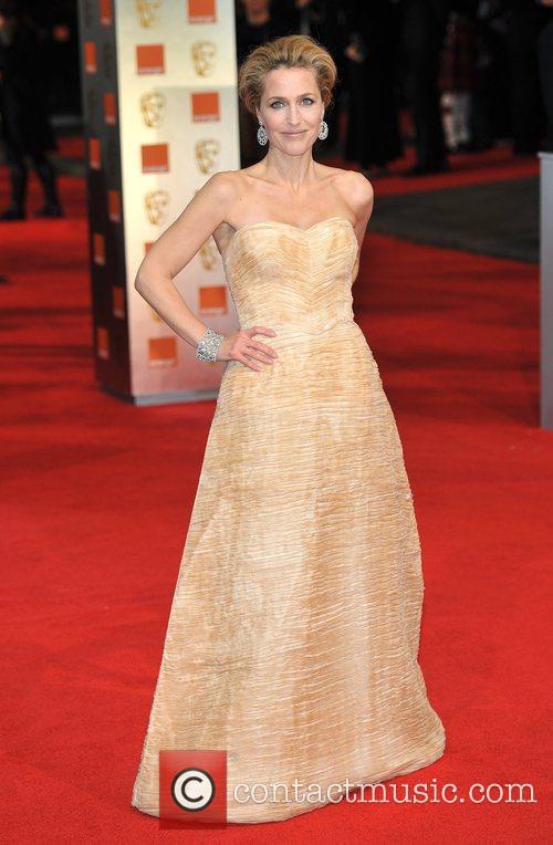 Gillian Anderson and Bafta 6