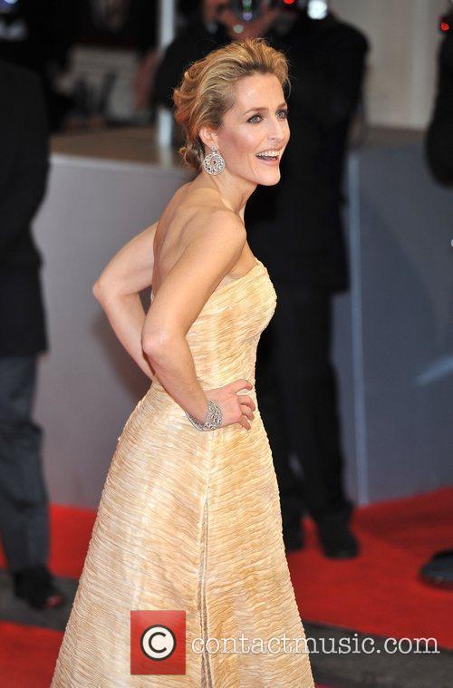 Gillian Anderson and Bafta 7