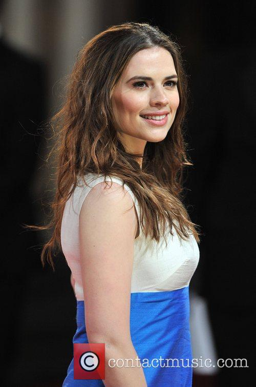 Hayley Atwell and Bafta 5