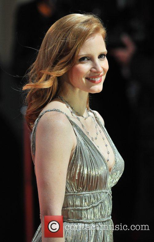 Jessica Chastain and Bafta 1