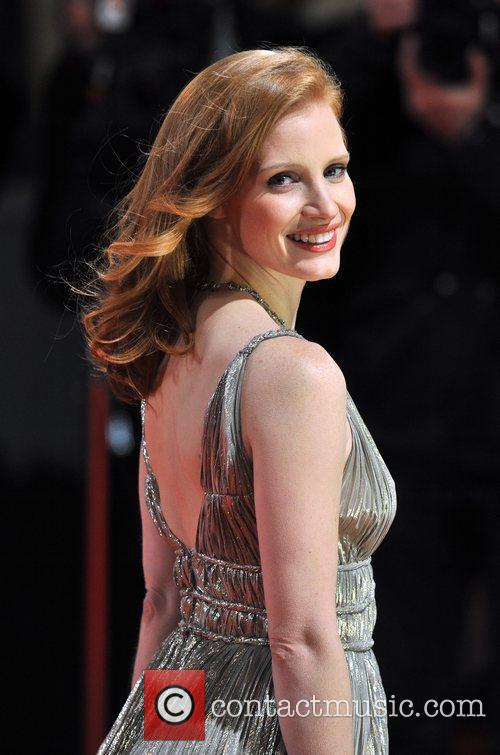 Jessica Chastain and Bafta 11