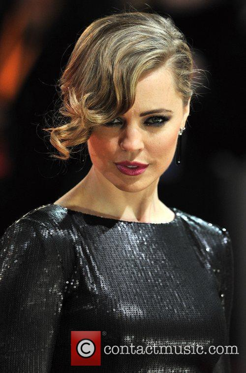 Melissa George and Bafta 1