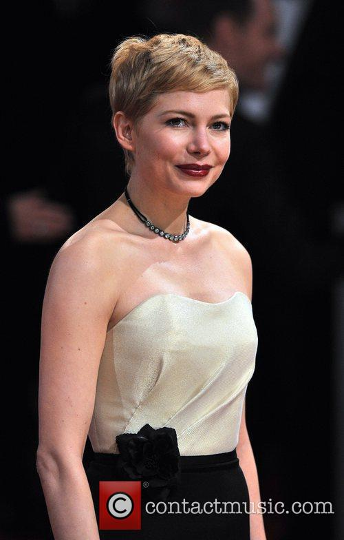 Michelle Williams and Bafta 9