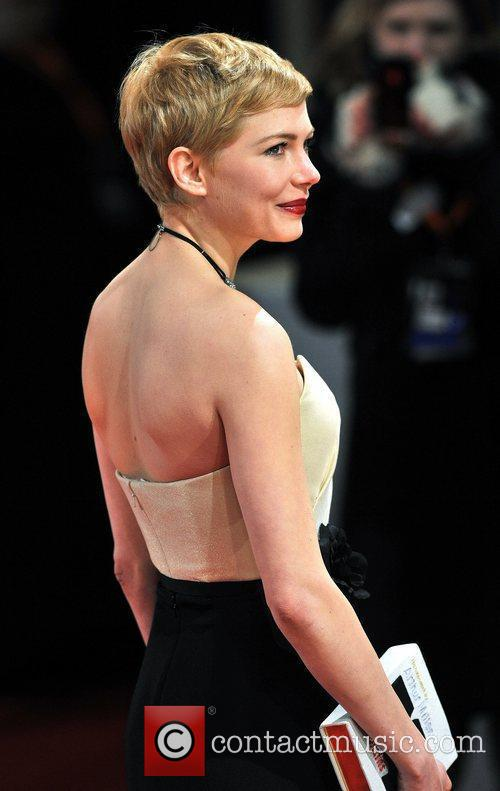 Michelle Williams and Bafta 11