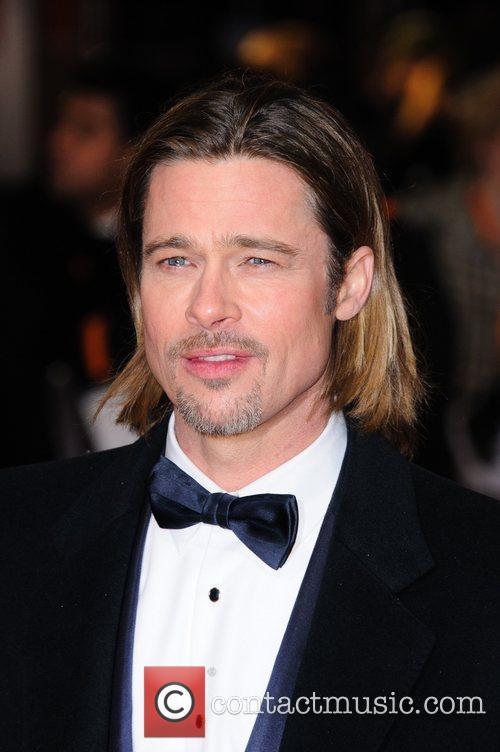 Brad Pitt and Bafta 1