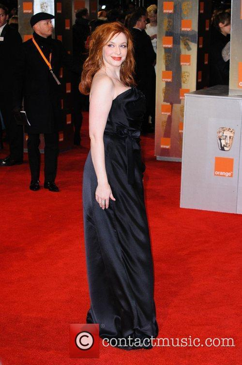 Christina Hendricks and Bafta 8