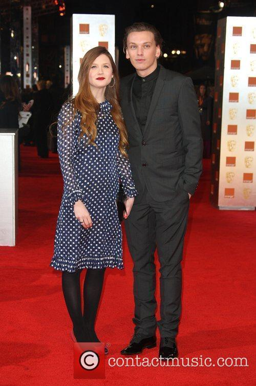 Bonnie Wright, Jamie Campbell Bower and Bafta 2