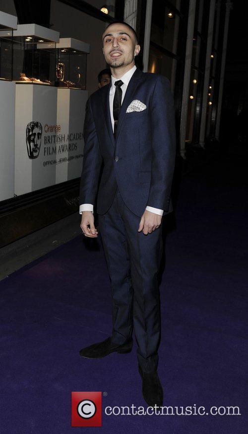 Adam Deacon arriving at BAFTAs nominees party held...