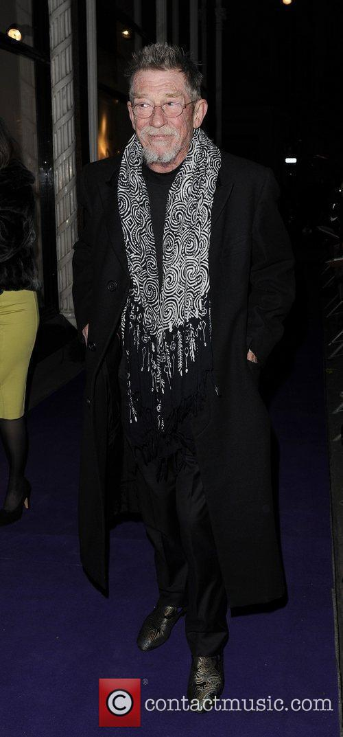 Guest arriving at BAFTAs nominees party held at...