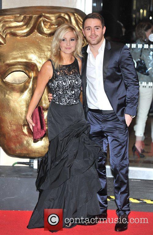 Helen Skelton and guest British Academy Children's Awards...