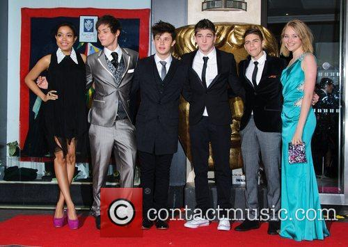 Dionne Bromfield, Tyger Drew-Honey and the cast of...