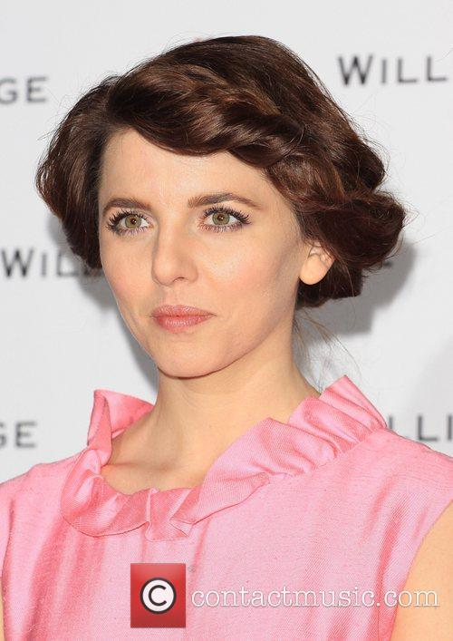 Ophelia Lovibond and Bafta 1