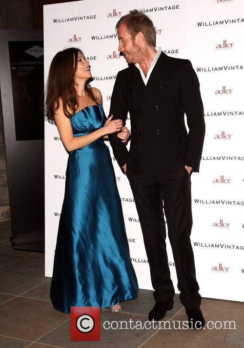 Anna Friel and Rhys Ifans Gillian Anderson and...
