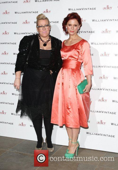 Kate Halfpenny and Emilia Fox Gillian Anderson and...