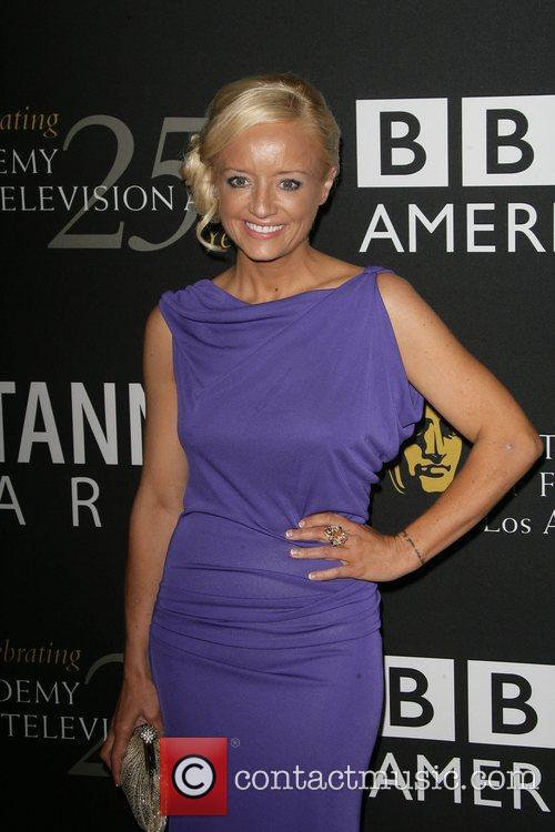 Lucy Davis, Beverly Hilton Hotel and Bafta 3