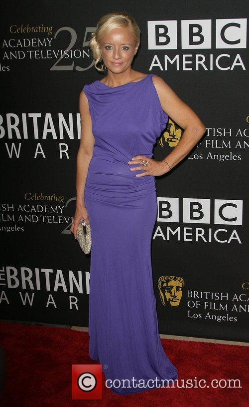 Lucy Davis, Beverly Hilton Hotel and Bafta 4