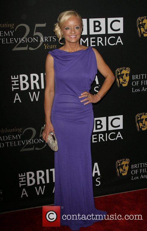 Lucy Davis, Beverly Hilton Hotel and Bafta 2