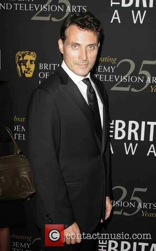 Rufus Sewell and Beverly Hilton Hotel 1