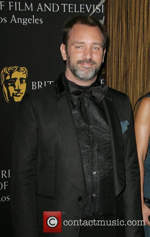 Trey Parker, Beverly Hilton Hotel and Bafta 3