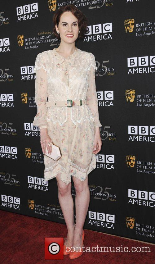 Michelle Dockery and Bafta 2