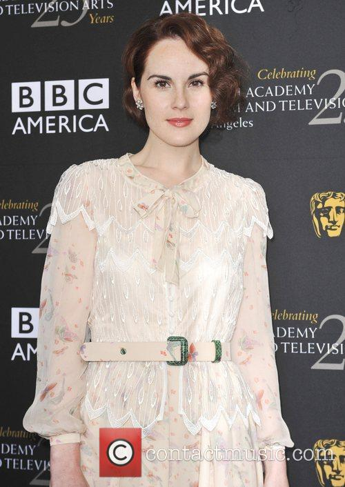 Michelle Dockery and Bafta 3