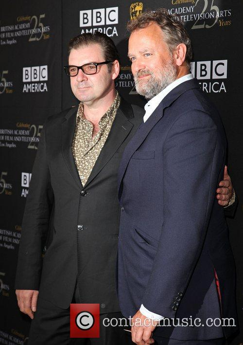 Brendan Coyle and Hugh Bonneville 2