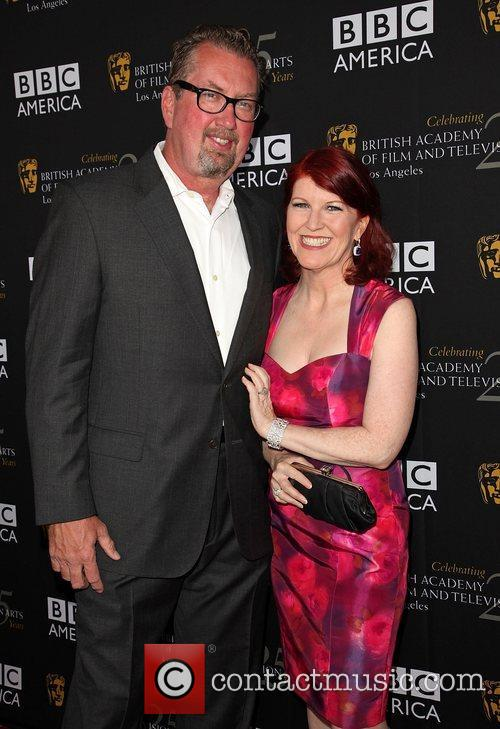 Chris Haston and Kate Flannery BAFTA Los Angeles...
